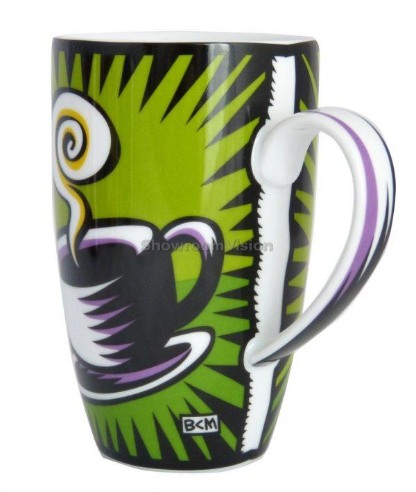 """Tasse """"Coffee Break"""" Verte de Burton Morris"""