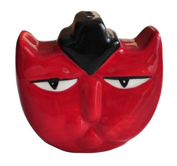 """Ensemble Sel et Poivre """"Red & Black Cat"""""""