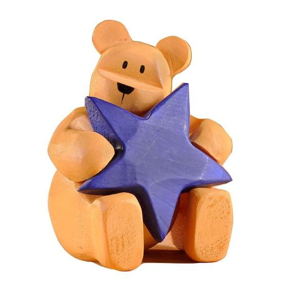 """Pozy Bear """"Be proud"""" Ourson avec Etoile"""