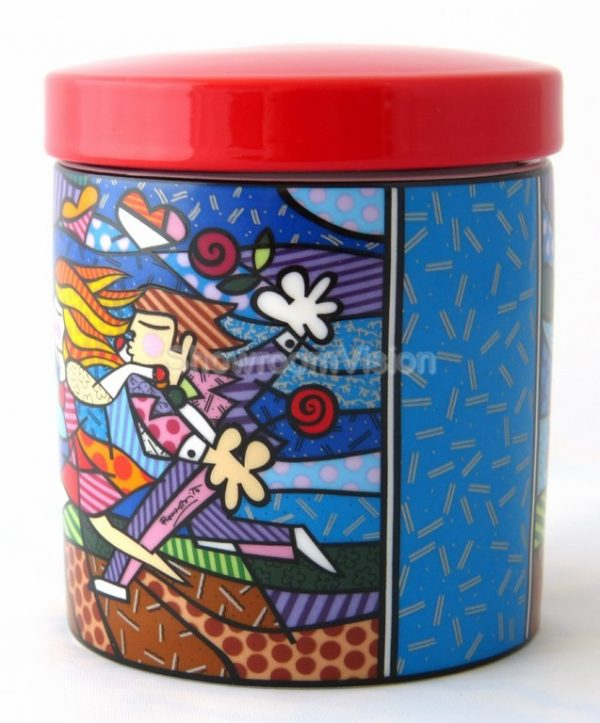 """Boîte en porcelaine """"Love blossom"""" Fleur d'amour"""