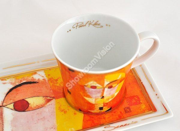 Tasse à café et soucoupe Paul Klee