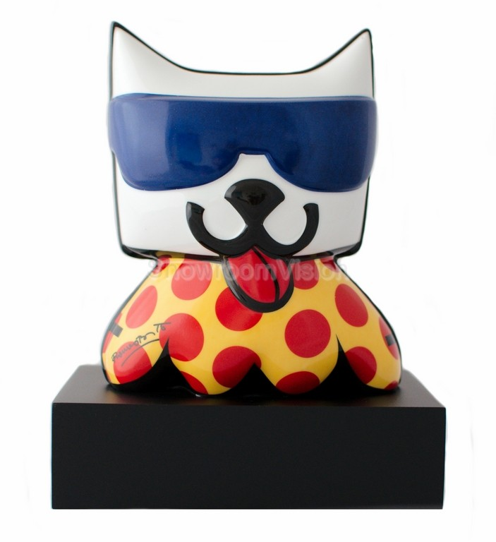 """LA Cat"" Chat de Romero Britto"