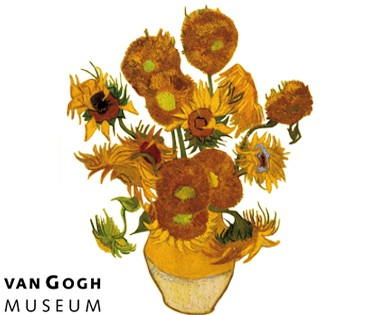 Flat Flower Special Van Gogh Tournesol