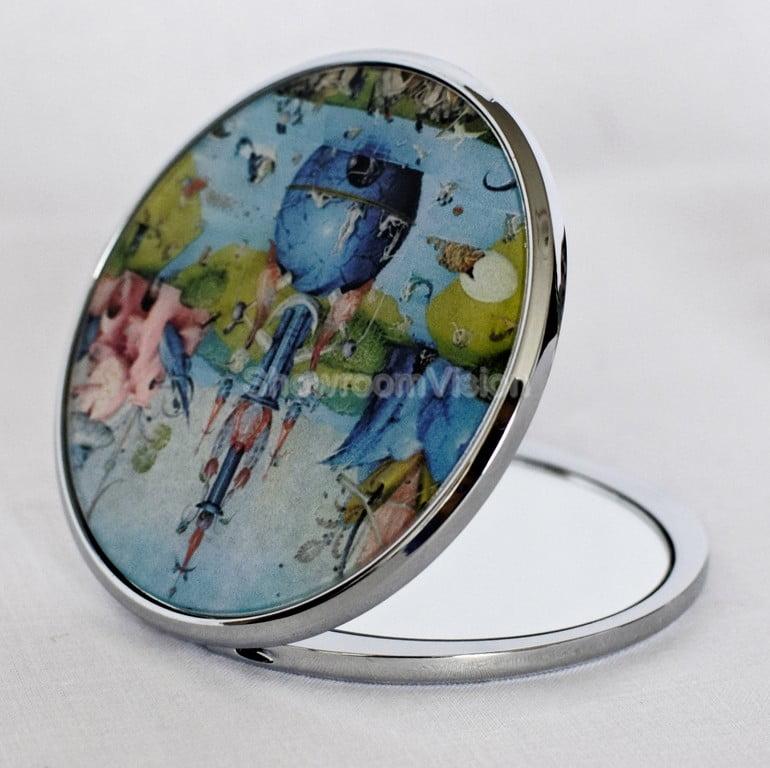 "Miroir Bosch ""Garden Delights"""