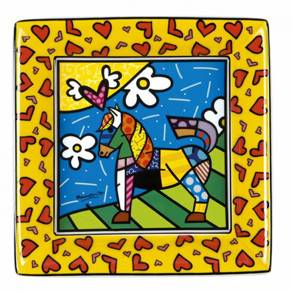 Dancer - Petite soucoupe Motif Cheval