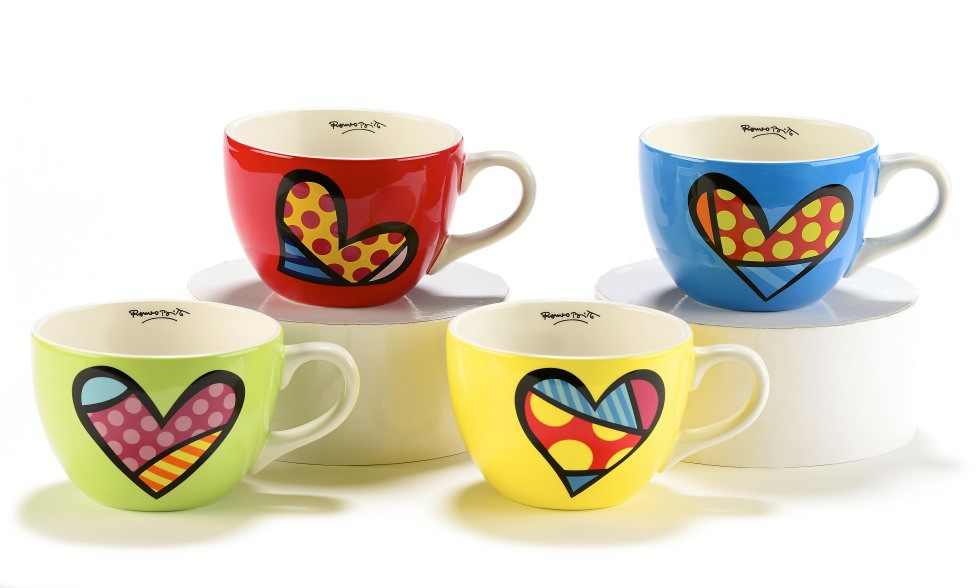 Set de 4 Tasses Cappucino