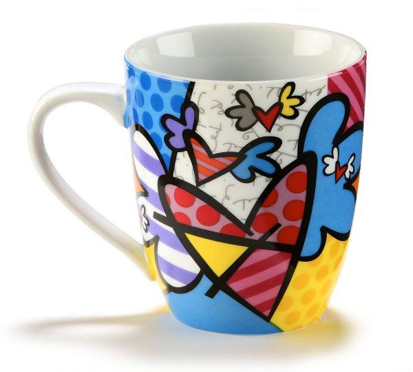 "Mug ""Coeurs Volants"" Romero Britto"