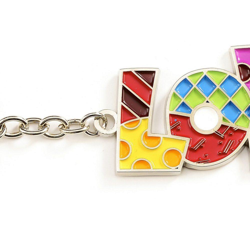 Porte clefs Love de Romero Britto
