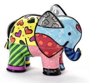 boite bijoux elephant romero britto