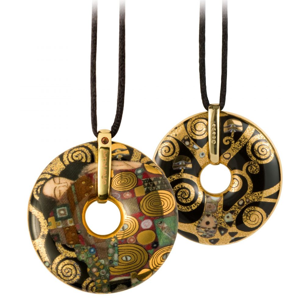 "Collier ""L'Accomplissement"" Klimt"