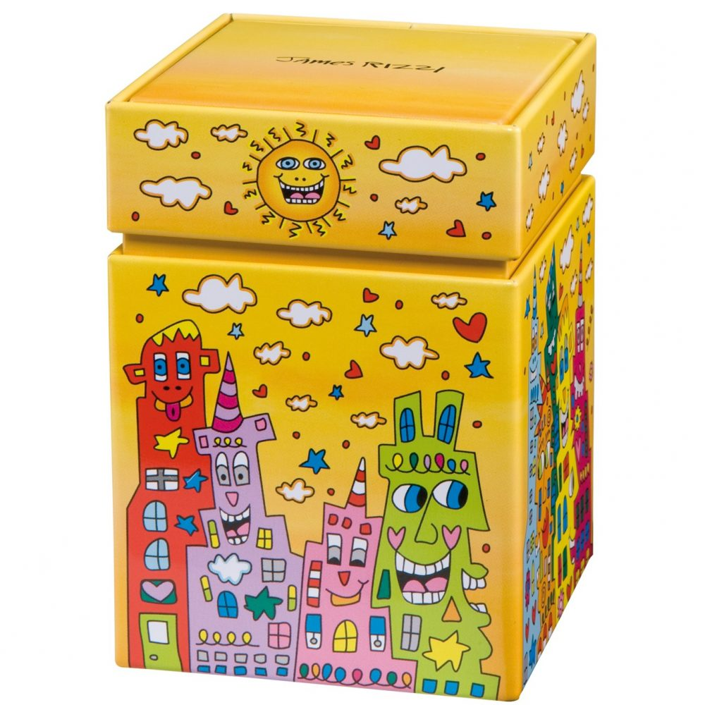 "Boîte ""City Sunset"" de James Rizzi"