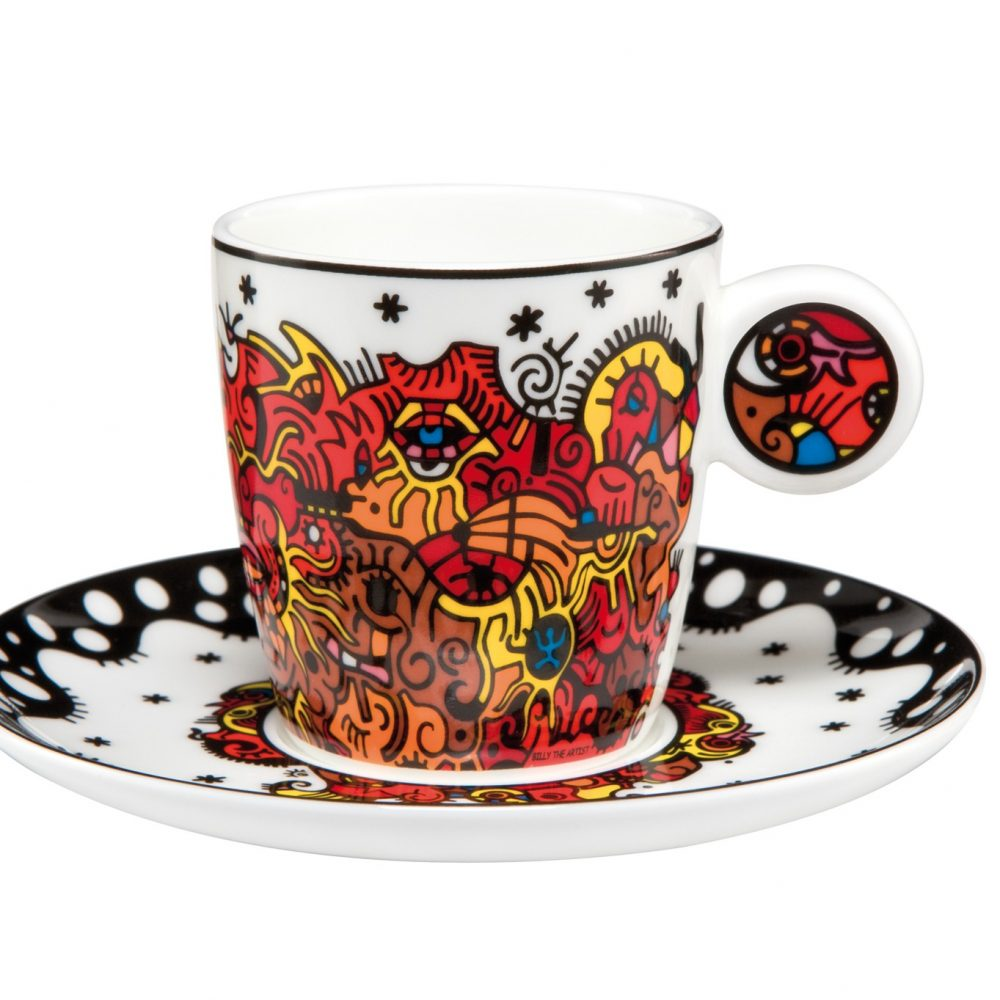 "Tasse ""Celebration Sunrise"" de Billy The Artist"